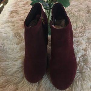 Steve Madden ankle boots - side zipper.🥰